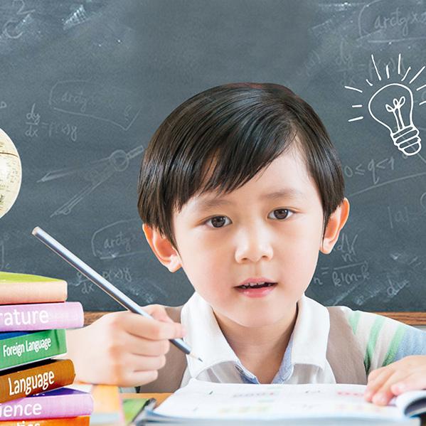 小升初幼儿教育培训—广告模板