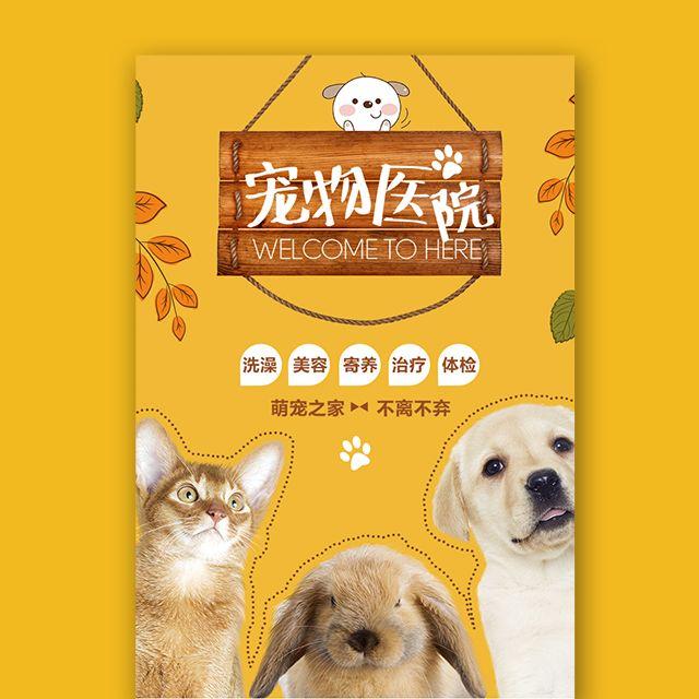 宠物医院宠物店铺萌宠之家宠物店开业活动