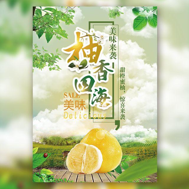 柚子特产微商招募农产品宣传推广促销
