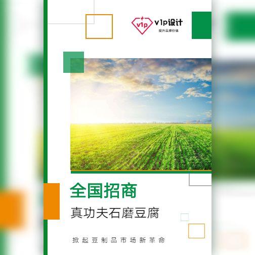 公司宣传简介豆腐食品农业全国招商加盟